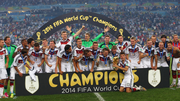 [ブラジルW杯]組織力のドイツ、メッシを封じ南米大会を制す[7/14]