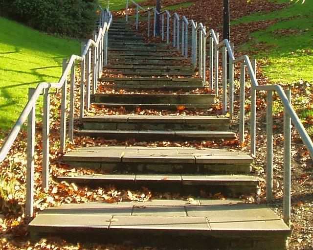 steps, Bradford University by Tim Green aka atoach