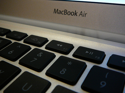 MacBook Air - closeup / dan taylor