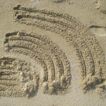 RSS Logo Drawn In The Sand / kiewic