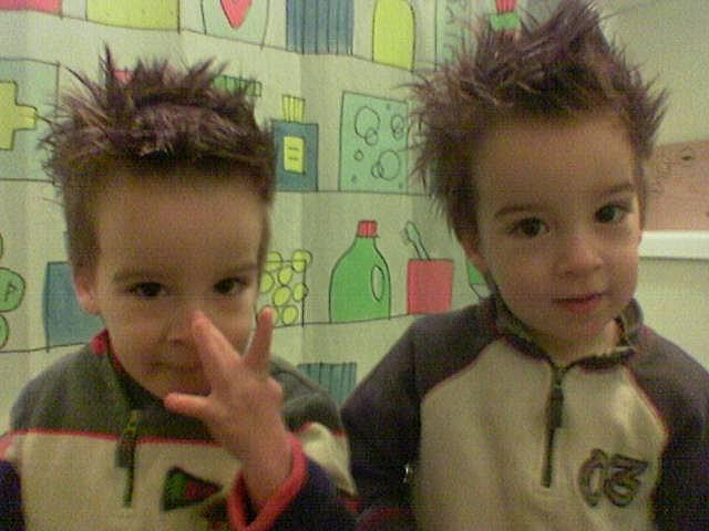 Stylish twins by goldberg