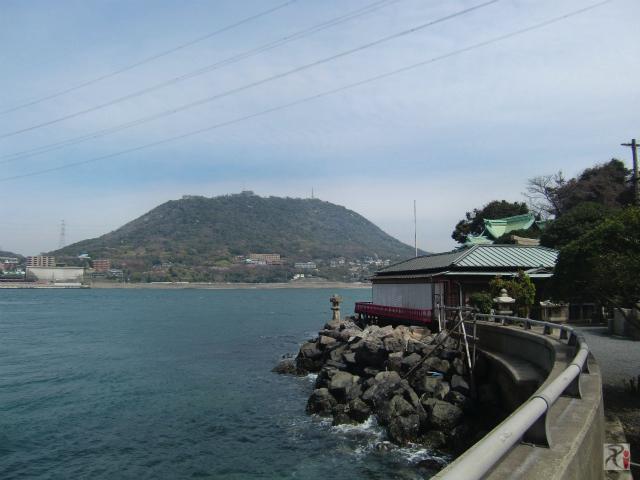 和布刈神社・関門海峡