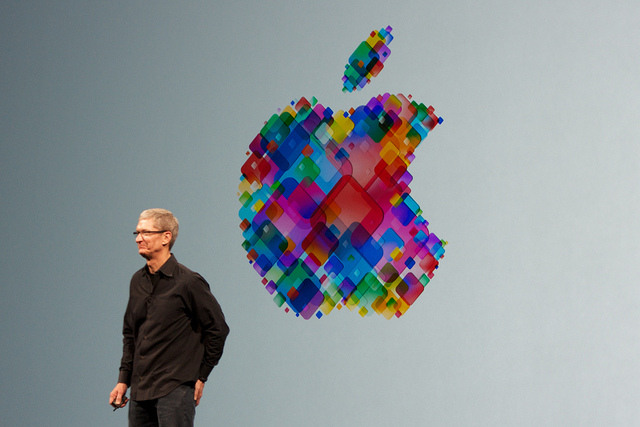 Apple CEO Tim Cook by deerkoski