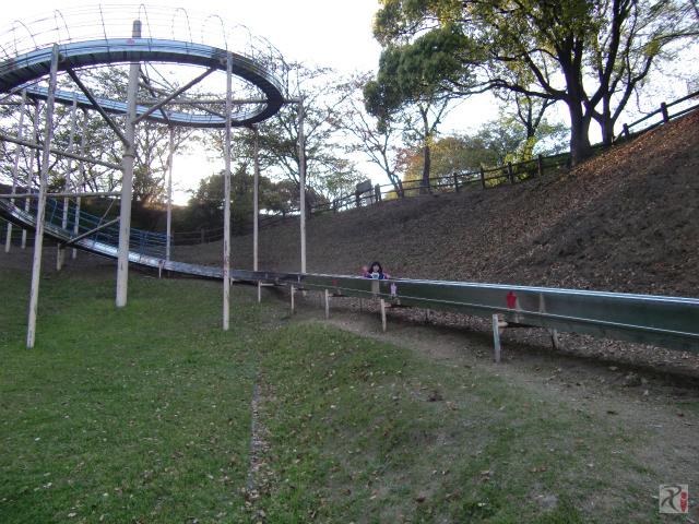 2010年4月の大将陣公園すべり台