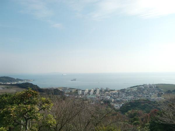 桜と紅葉の名所・白野江植物公園は想像以上に広くて高かった