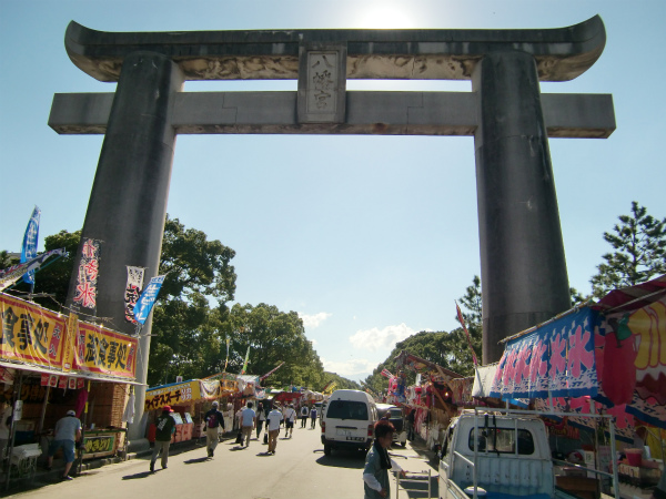 放生会が筥崎宮のお祭りだというのを初めて知る【Walk箱崎】