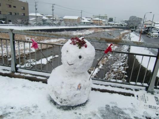 雪景色の福岡を歩けるチャンスなんて滅多にない【ウォーキング門松編】