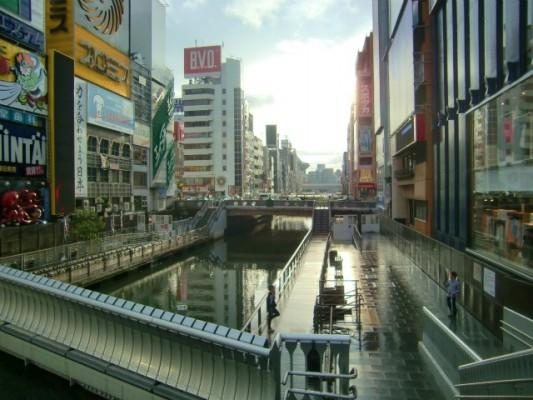 マイミクさんが道頓堀に奇跡の光を引き寄せた【大阪旅行その11:難波編】
