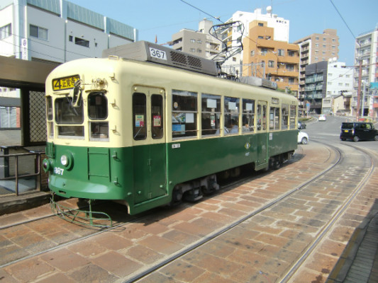[Я]長崎市内をグルリと観光するなら路面電車に乗らなくちゃ!