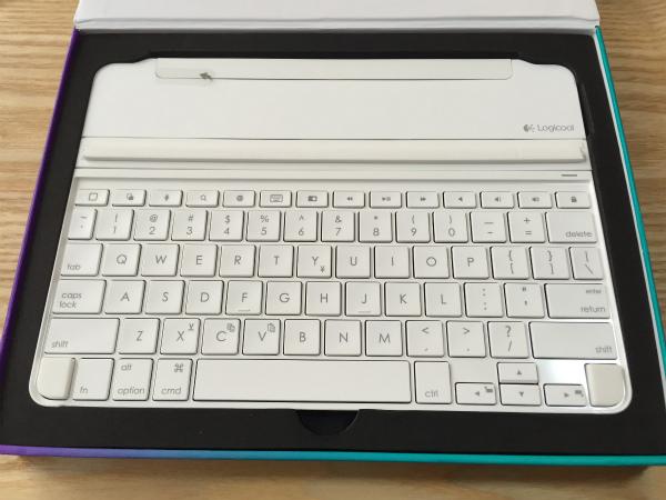 ロジクール iPad Air 2 対応キーボードカバー「Ultrathin」購入レポ