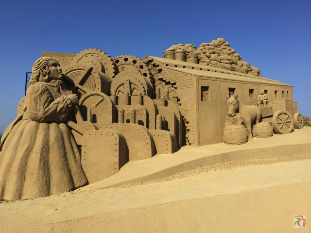 砂像・紡績工場