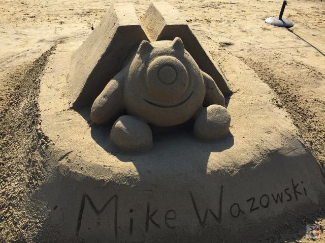 砂像・マイク・ワゾウスキー
