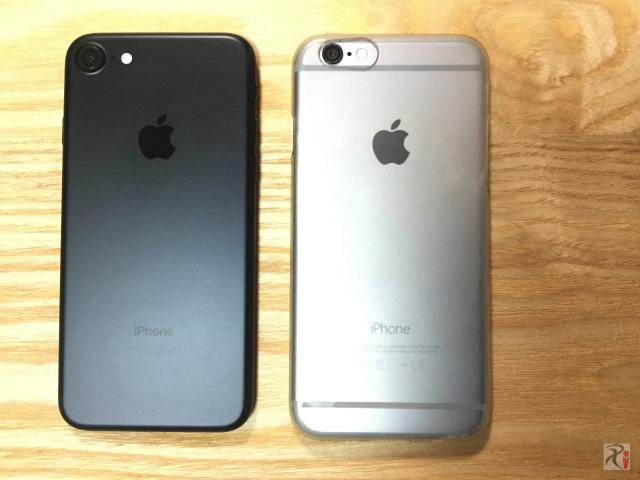 iPhone7とiPhone6