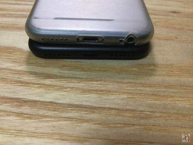 iPhone7にはイヤホンの穴がない