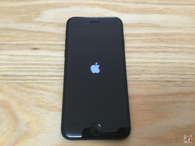 iPhone 7起動