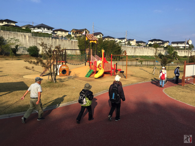 人丸神社近くの公園