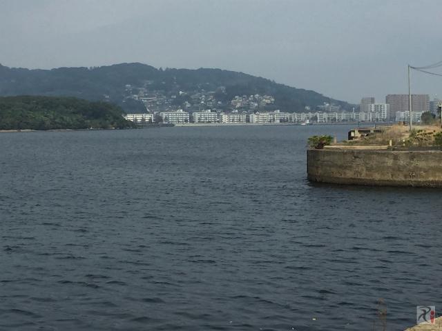若松駅周辺の景色