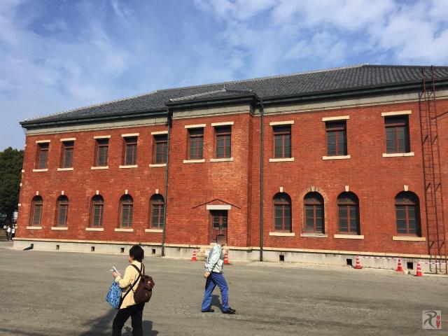 官営八幡製鉄所旧本事務所の裏側