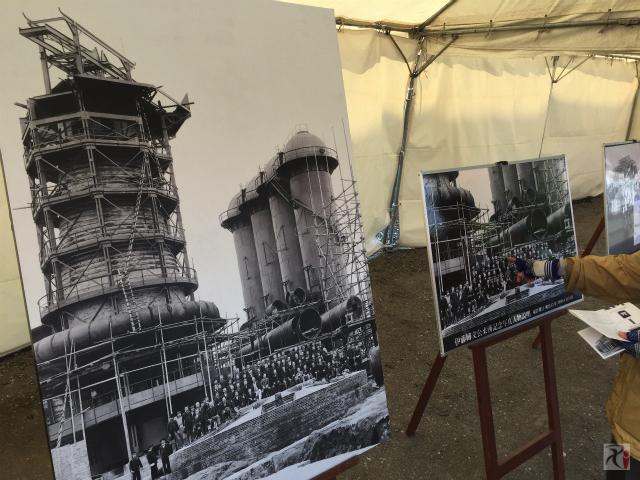 官営八幡製鉄所のパネル展示