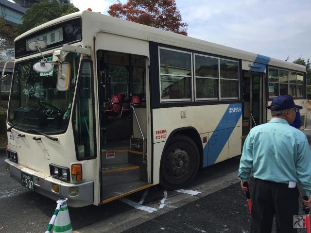 無料見学会送迎バス