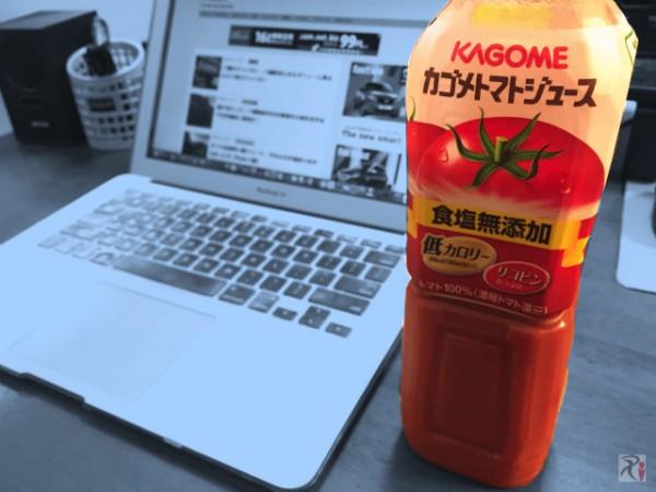 奥野さんが勧めるアレをトマトジュースに入れたら愉快なことになった