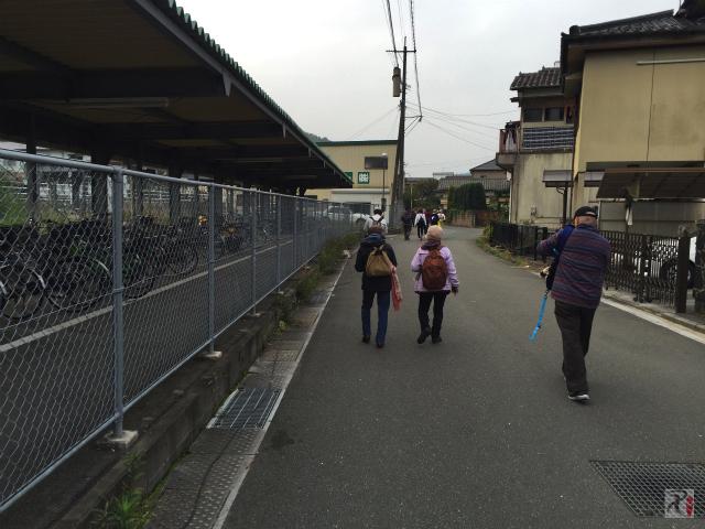 JR天道駅付近