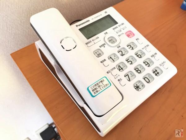 スマートフォンも子機として使えるPanasonic電話機「VE-GDW54D」を購入