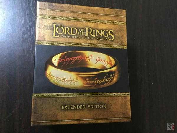 ロード・オブ・ザ・リング3部作のエクステンデッド版Blu-rayボックスをやっと買えた!