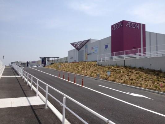 4月26日グランドオープンのイオンモール福津店に徒歩で行ってきた
