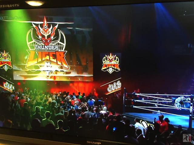 WWEネットワークをテレビで視聴
