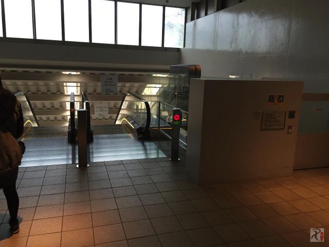 国立博物館と太宰府天満宮の連絡路