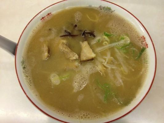 がんこもんラーメン:とろみのある超こってりスープが特徴@福岡・遠賀町