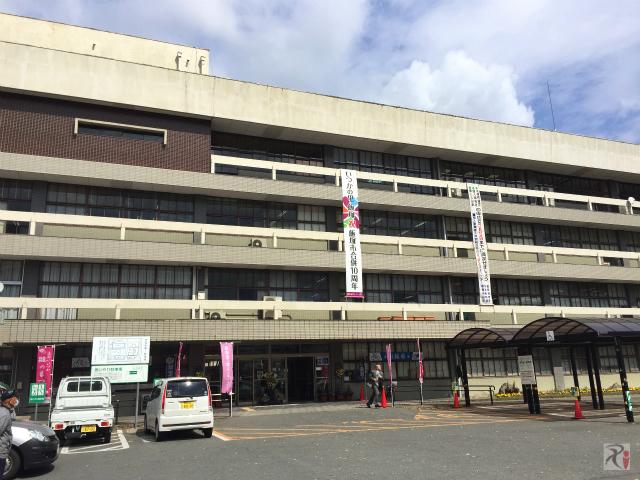 飯塚市役所本庁舎
