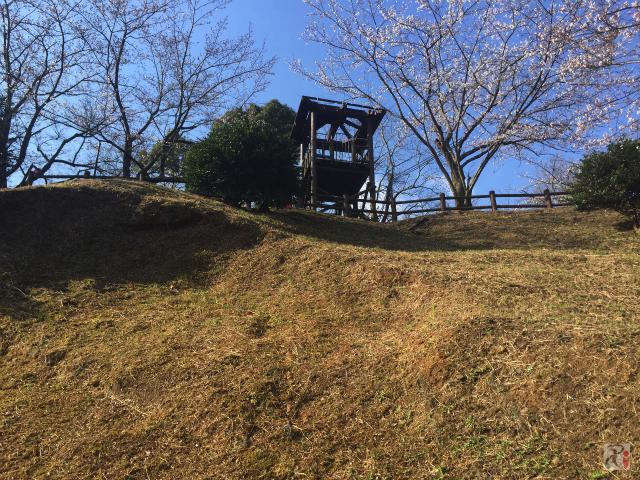 大将陣公園のすべり台跡