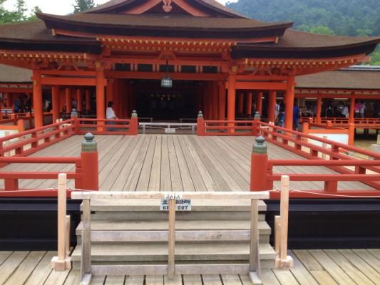 平清盛が造り、奥田民生が唄った厳島神社に行ってきた