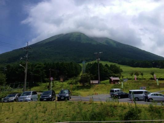 夏の大山スキー場で天空リフトに乗って米子市街を一望してきた