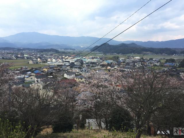 寿命公園展望台からの景色