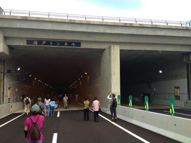 秋シーズン開幕!開通間近の若戸トンネルを歩いてきた【ウォーキング戸畑編】