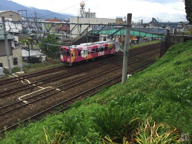 平成筑豊鉄道のラッピング電車