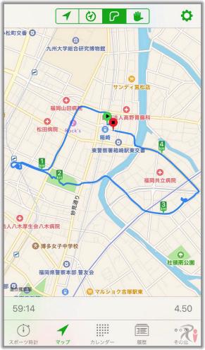 Walk箱崎結果