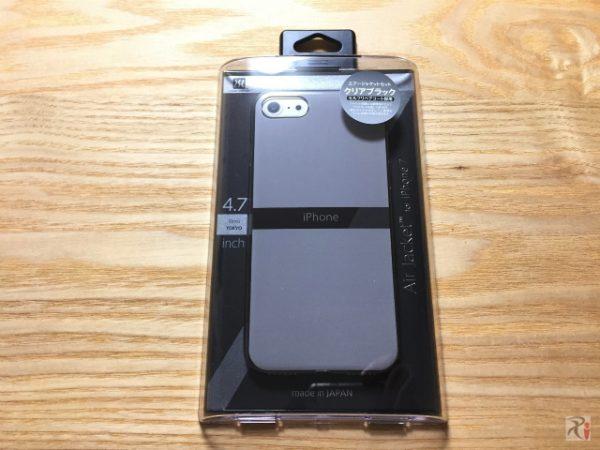 超軽いパワーサポート社製iPhone7ケース「エアージャケット」装着レポ