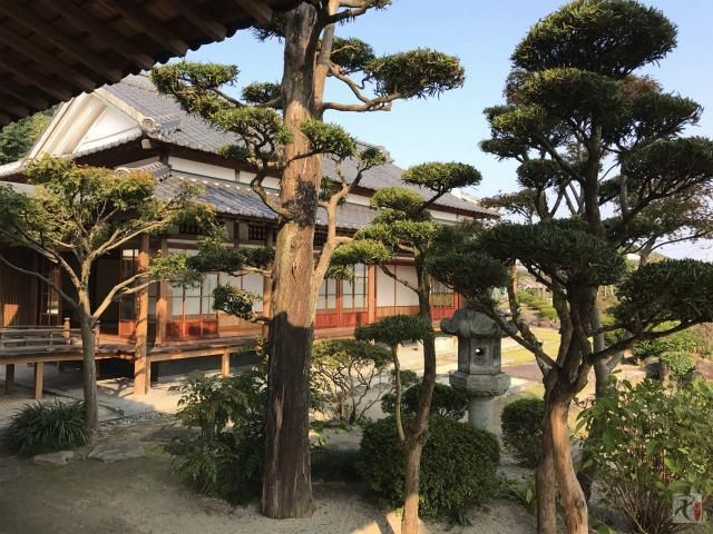 歳時館の日本庭園