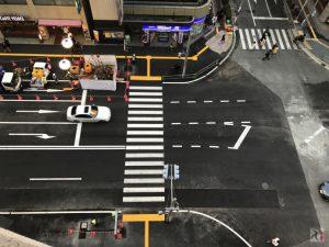 1週間で復旧工事が完了した博多駅前の道路陥没事故現場に行ってきた