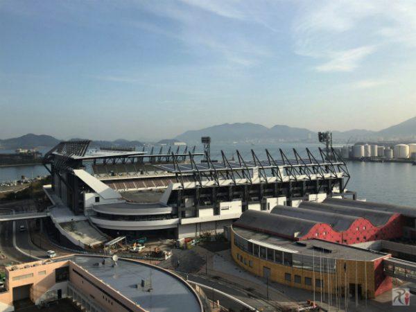 ギラヴァンツはJ3降格したけど北九州スタジアムは9割方完成(2016年12月)