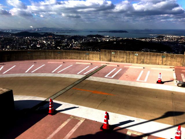 火の山公園駐車場