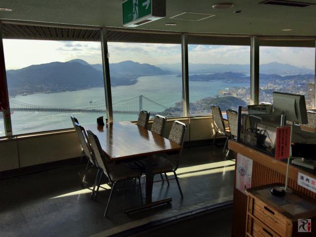 火の山展望台2階レストラン