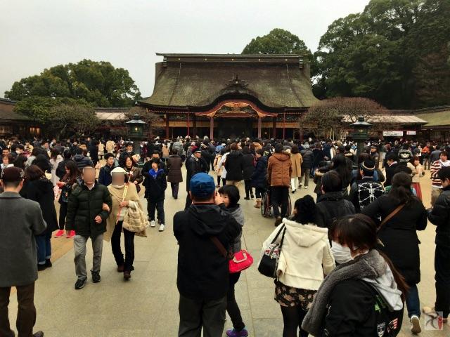 北九州から太宰府天満宮へ、3度目の受験合格祈願初詣で最適ルート確定