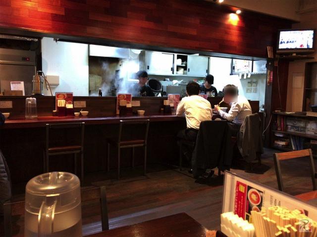 ちー坊のタンタン麺大名店 店内