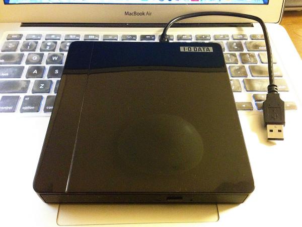 軽くて安い!MacBook Airで使える外付けブルーレイドライブを買いました
