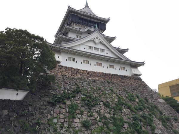 [Я]台風接近にも負けず連日の長崎街道から小倉城へ【ウォーク南小倉編】